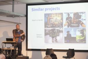 Arnulph Fuhrmann presents his Shared Virtual Environment-project