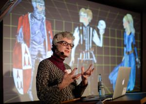 Janet Murray (Georgia Institute of Technology) © Costa Belibasakis
